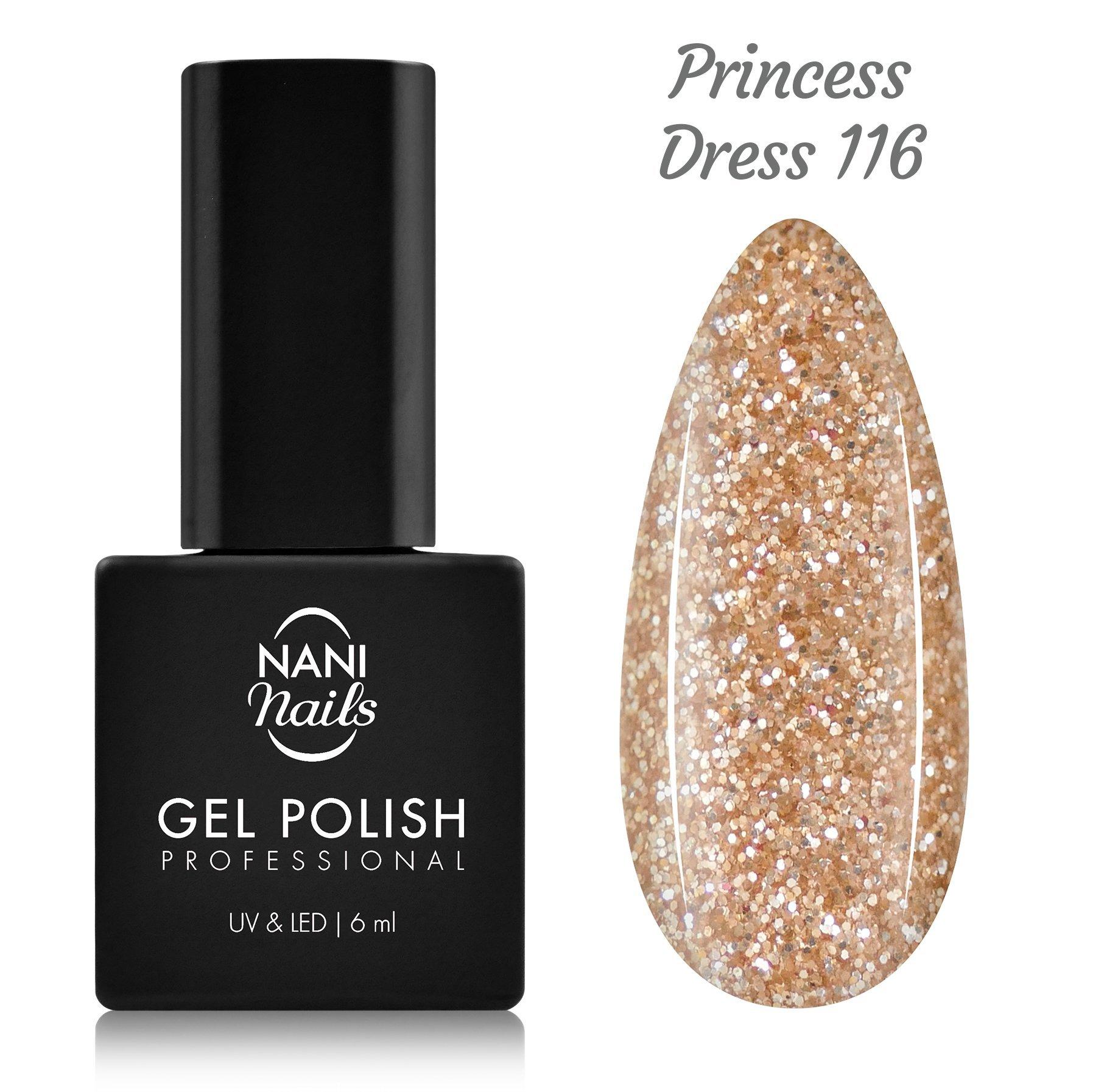 NANI gél lak 6 ml - Princess Dress