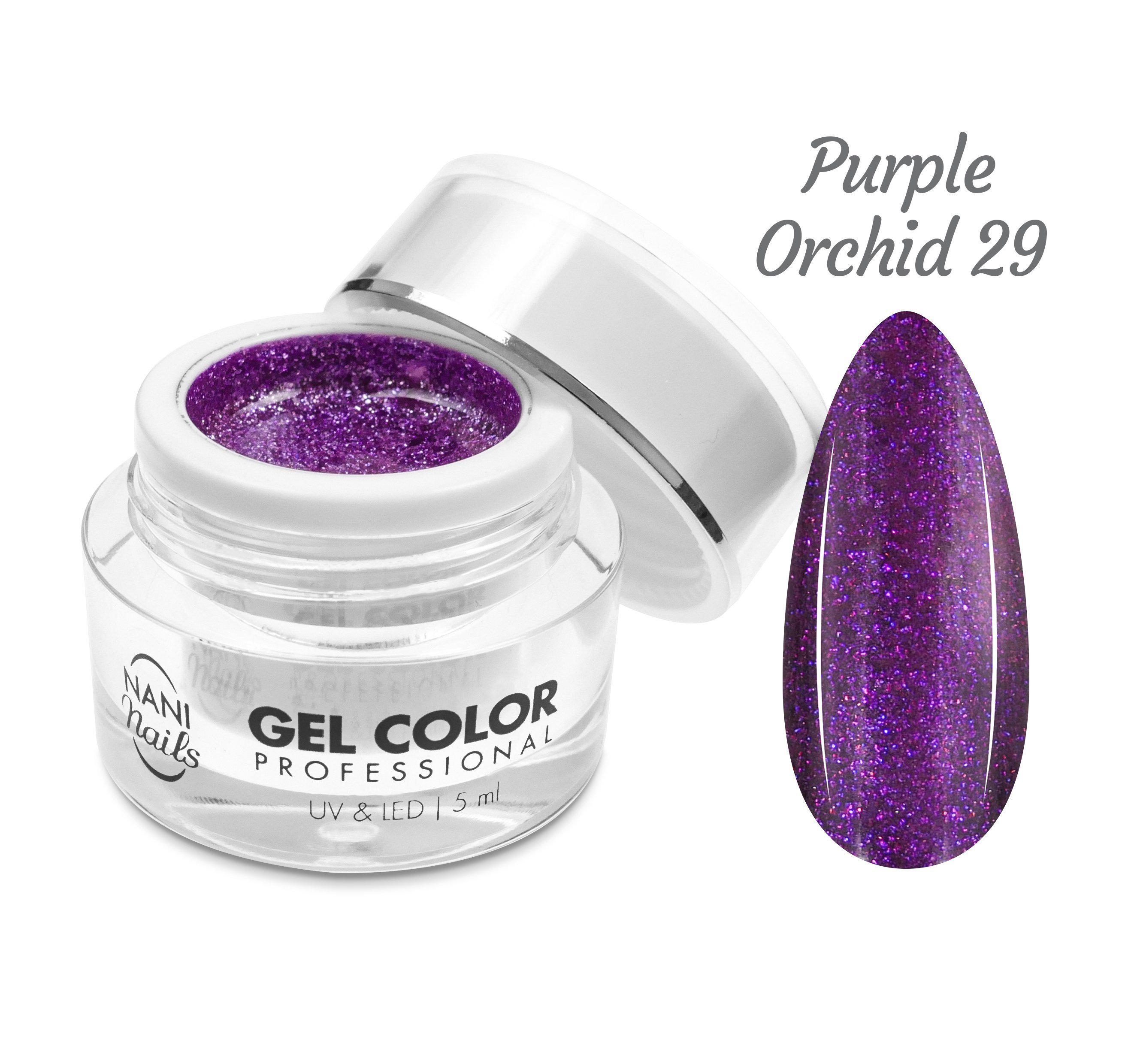 NANI UV/LED gél Professional 5 ml - Purple Orchid