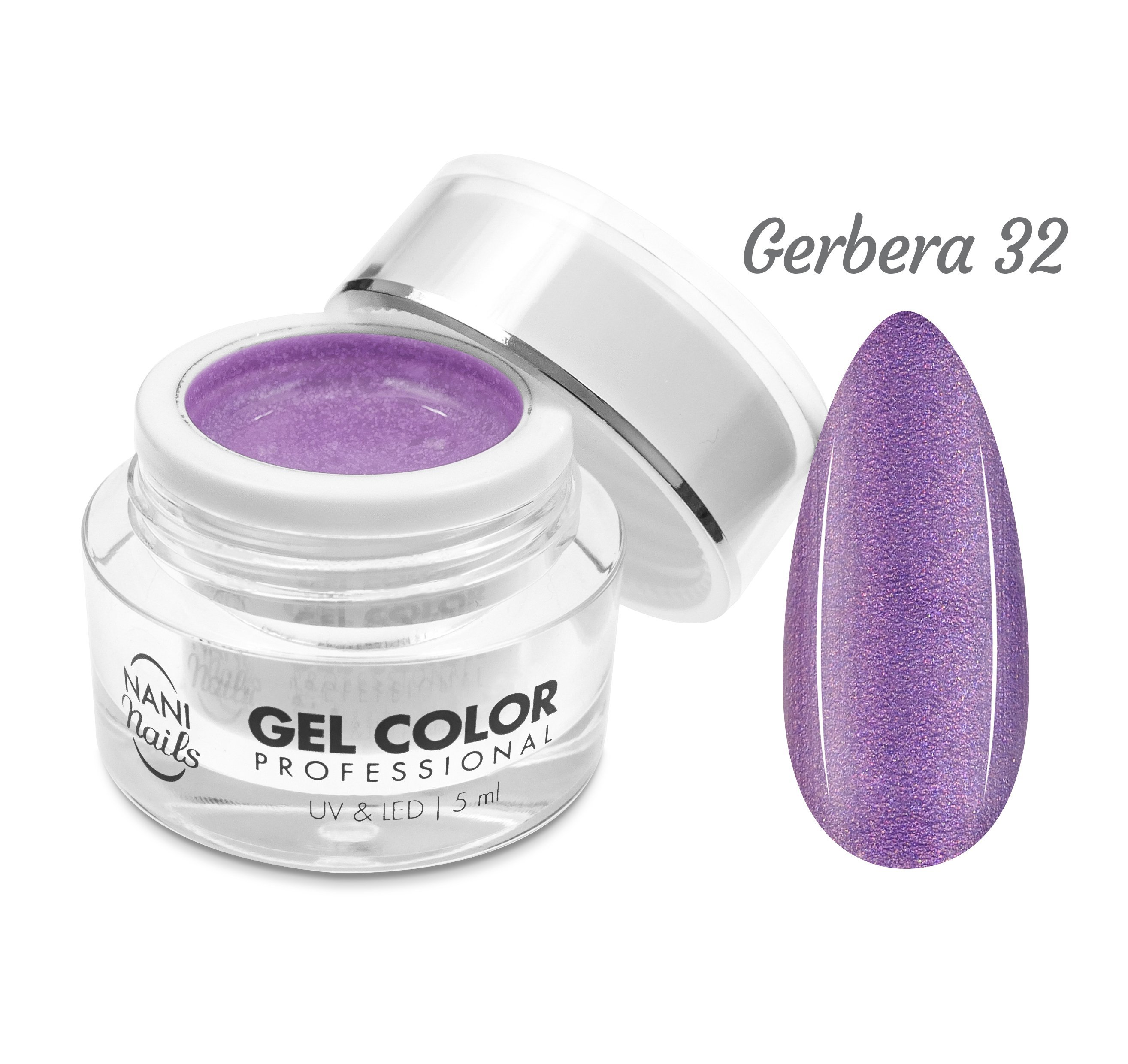 NANI UV/LED gél Professional 5 ml - Gerbera