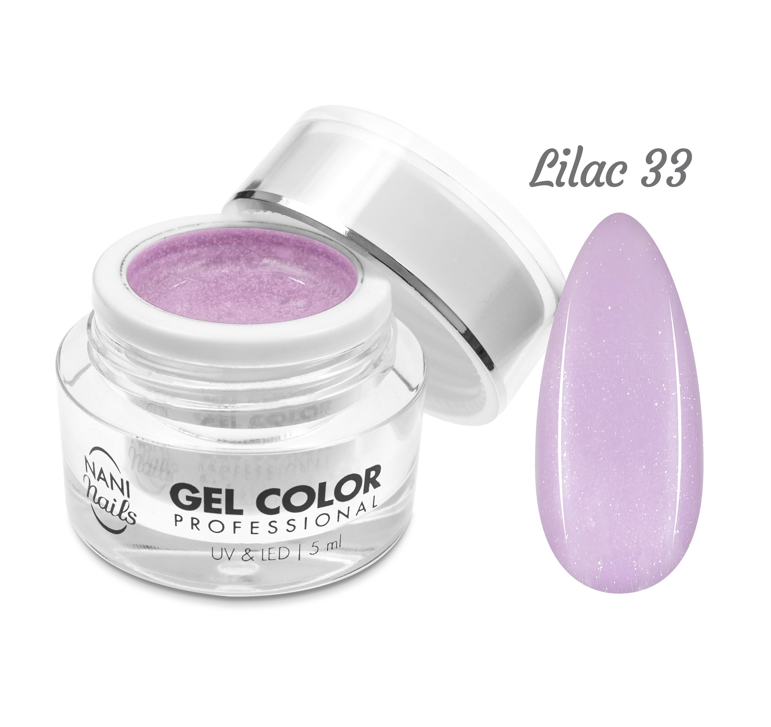 NANI UV/LED gél Professional 5 ml - Lilac