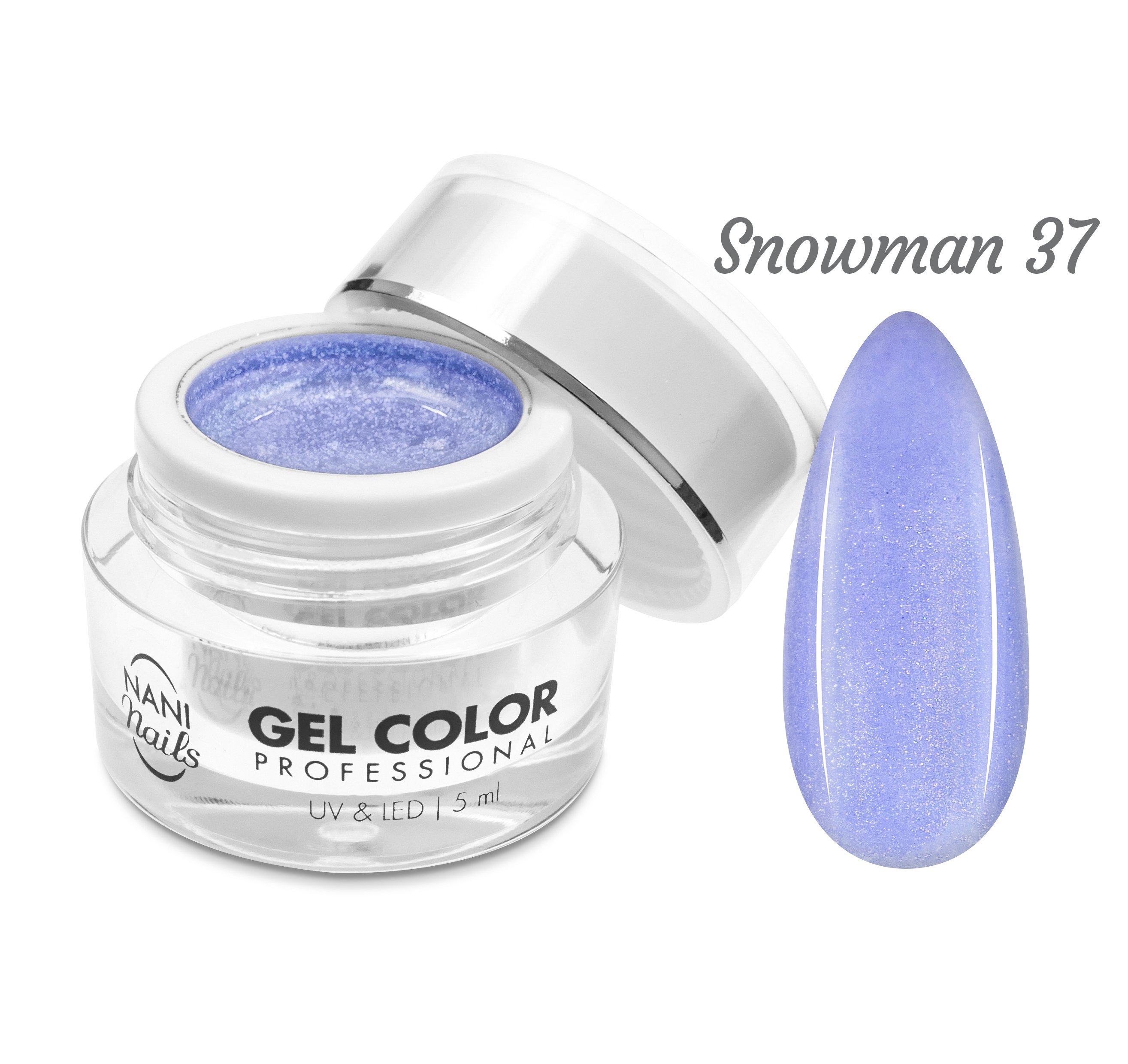 NANI UV/LED gél Professional 5 ml - Snowman
