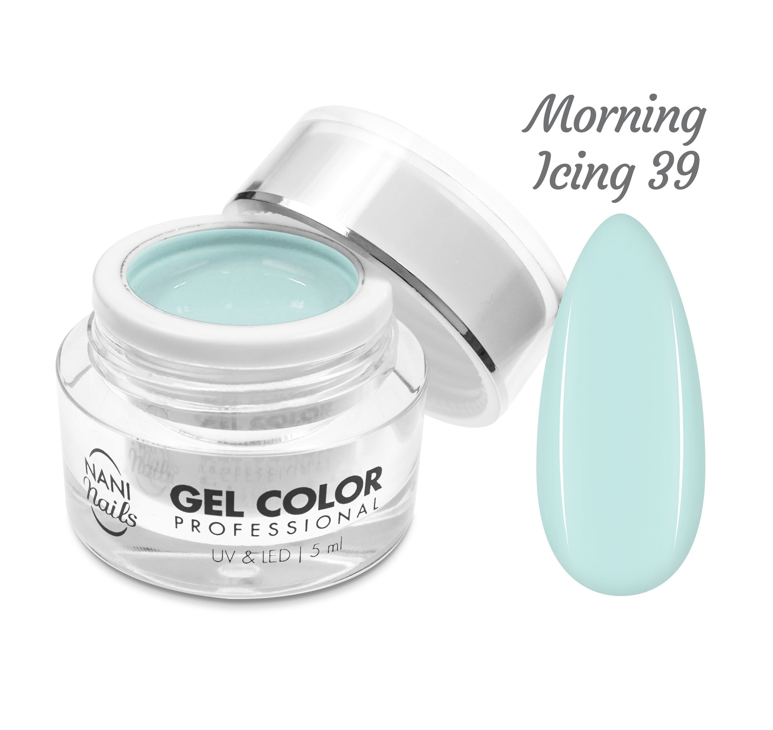 NANI UV/LED gél Professional 5 ml - Morning Icing