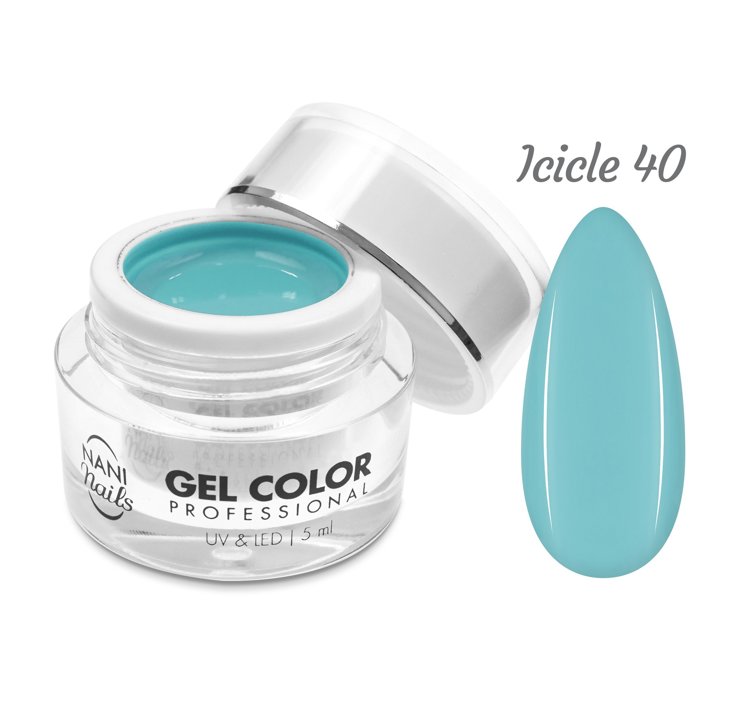 NANI UV/LED gél Professional 5 ml - Icicle