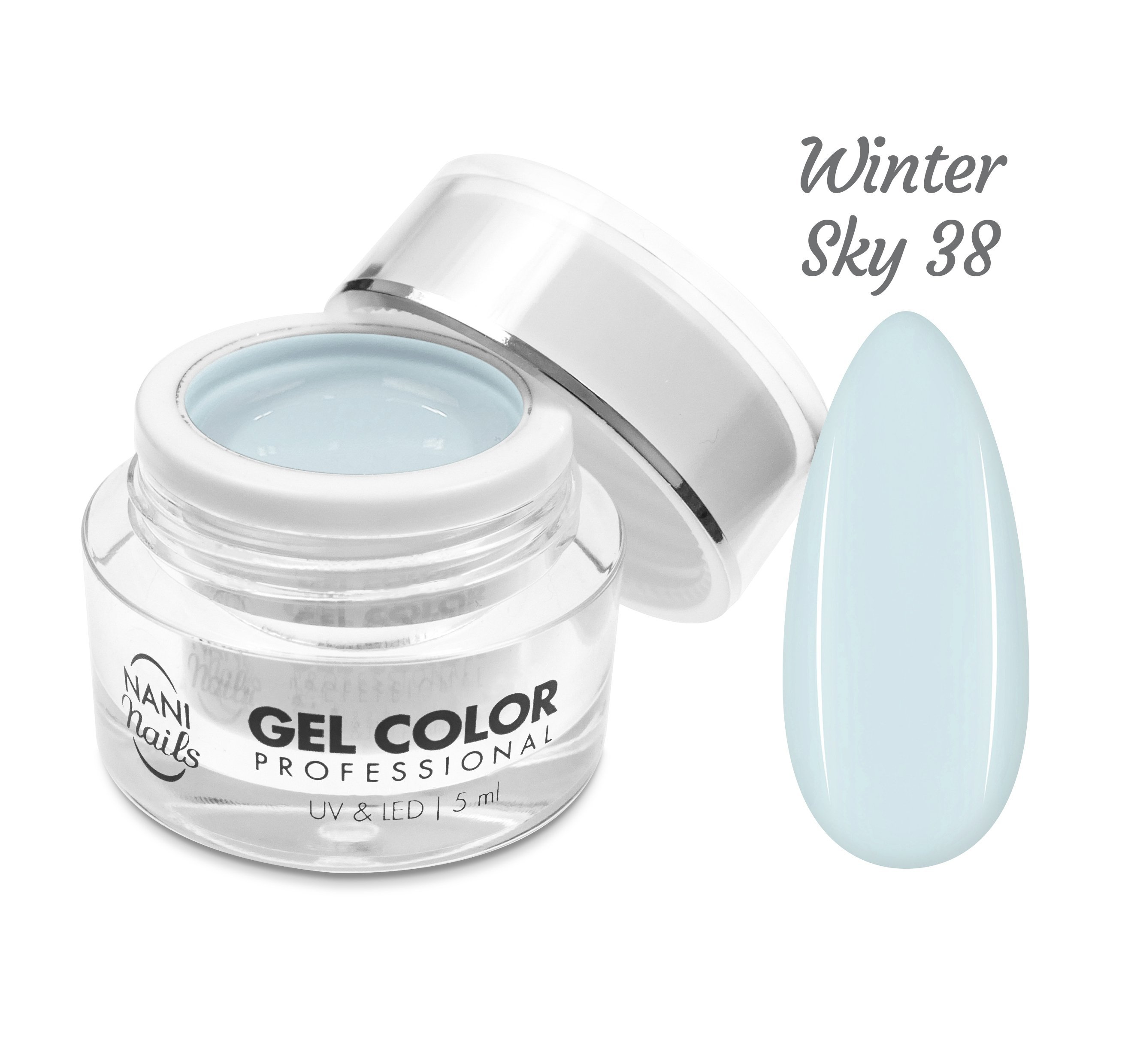 NANI UV/LED gél Professional 5 ml - Winter Sky