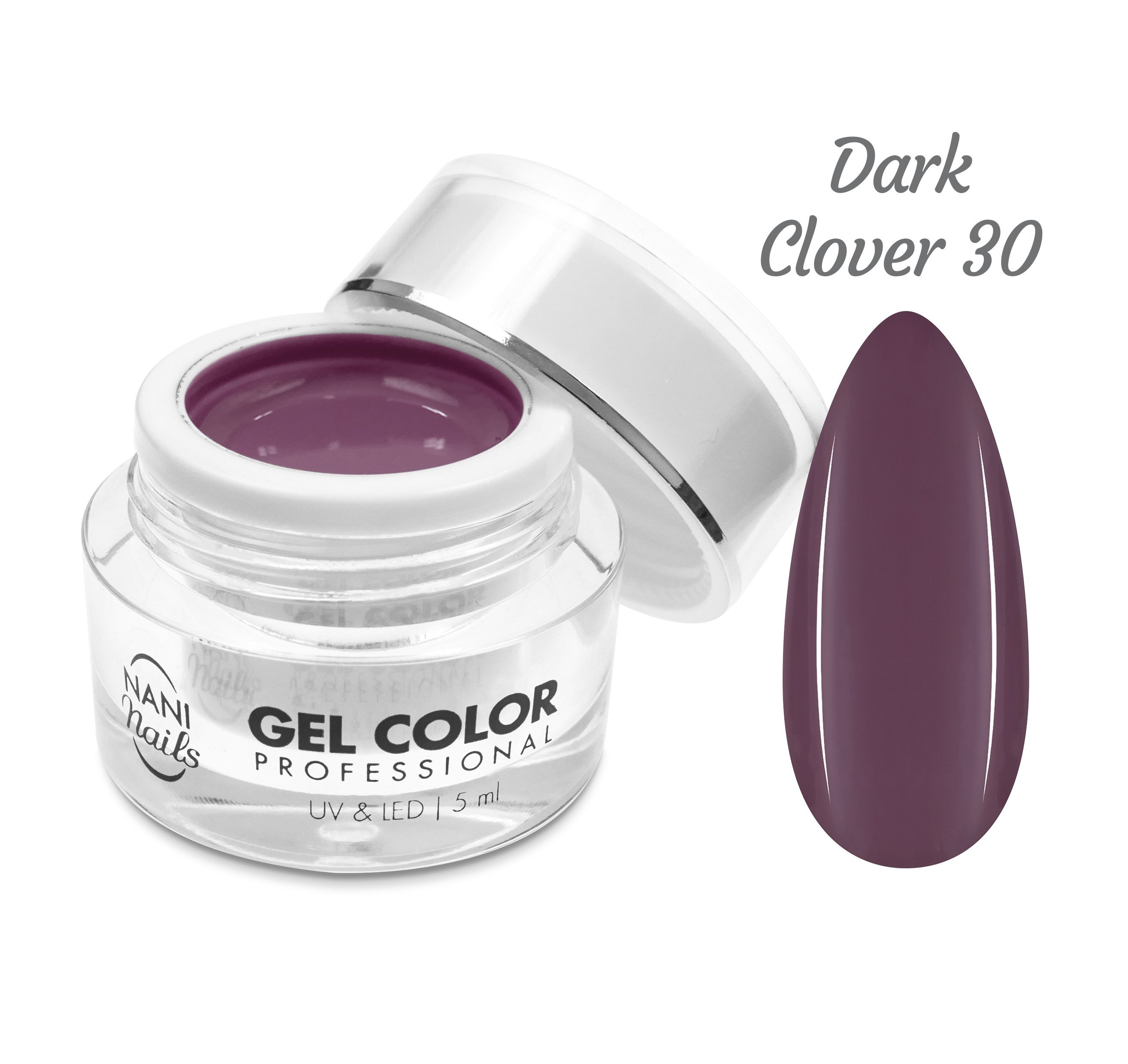 NANI UV/LED gél Professional 5 ml - Dark Clover