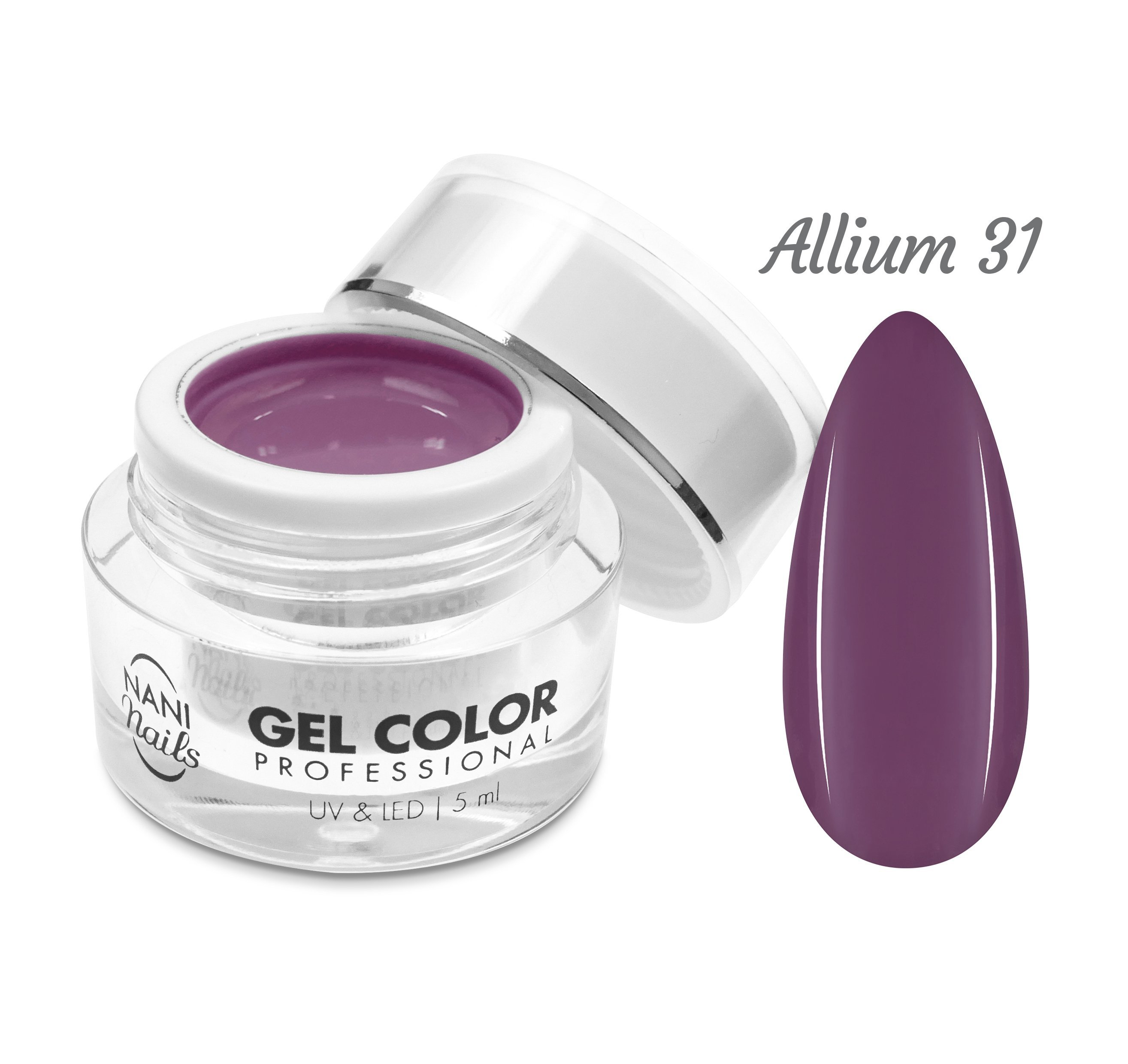 NANI UV/LED gél Professional 5 ml - Allium