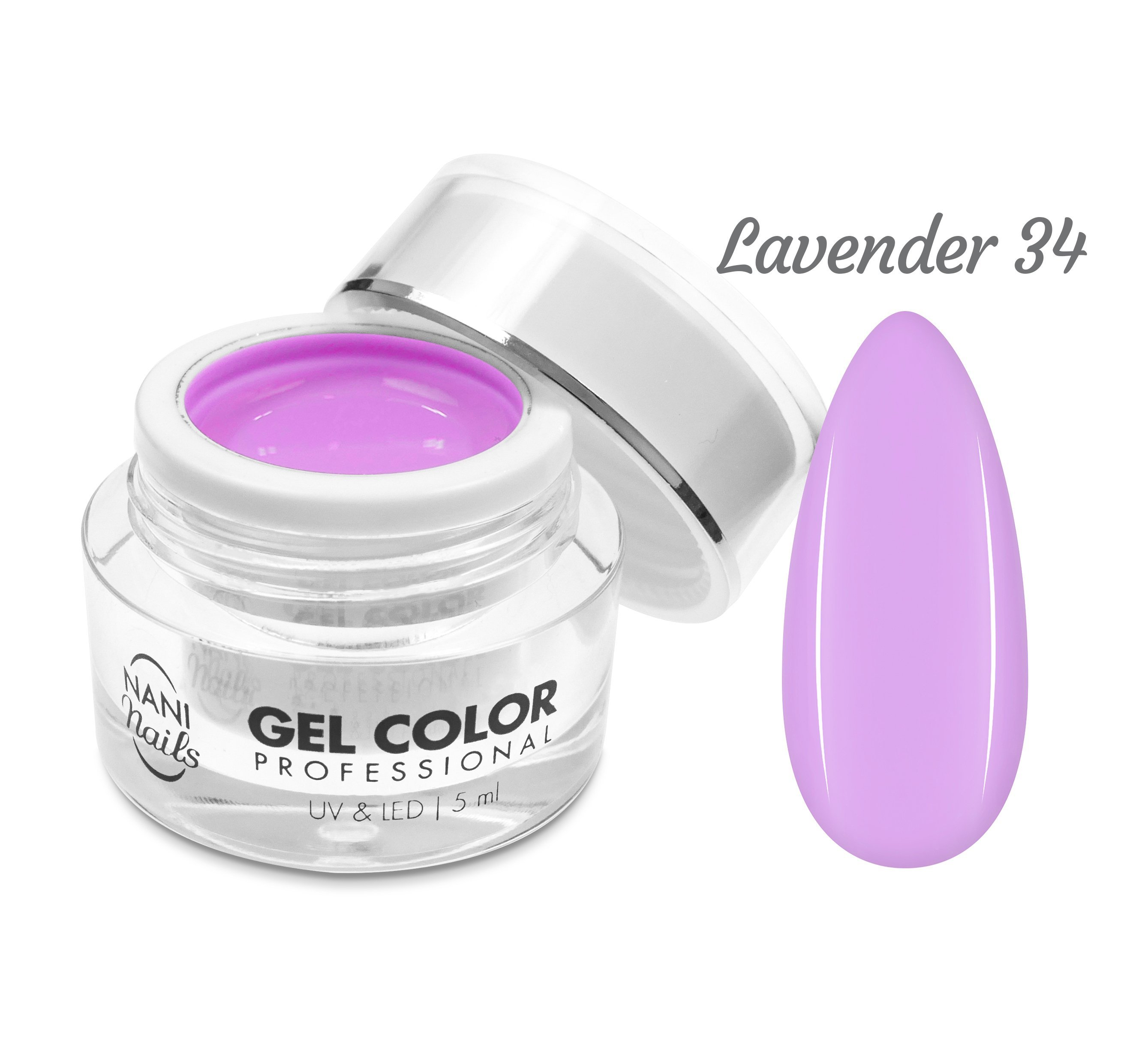 NANI UV/LED gél Professional 5 ml - Lavender