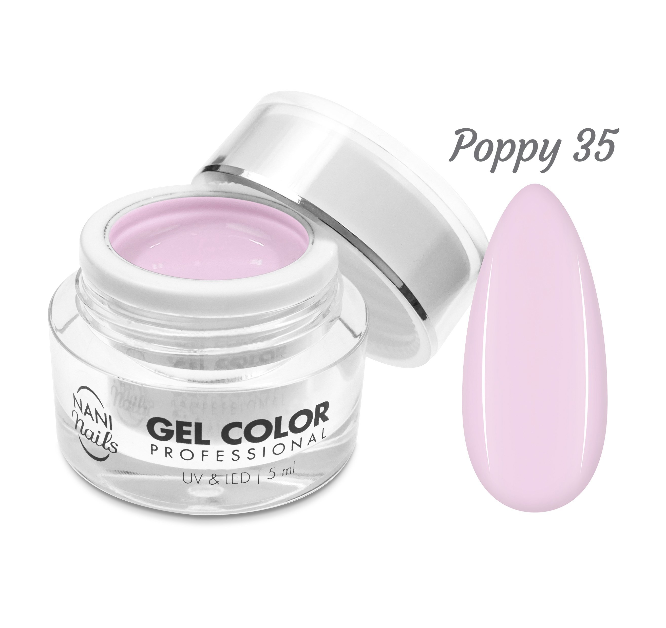 NANI UV/LED gél Professional 5 ml - Poppy