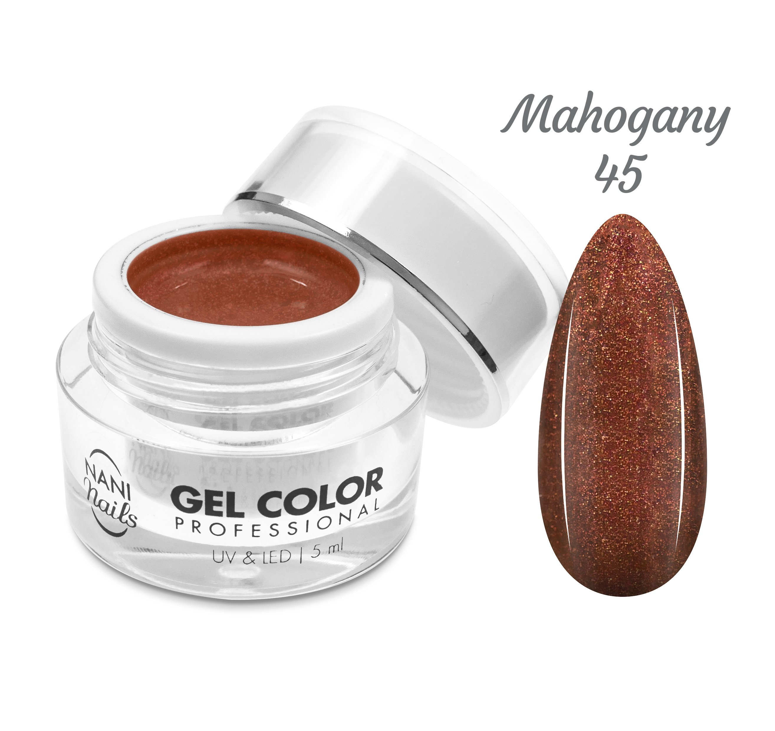NANI UV/LED gél Professional 5 ml - Mahogany