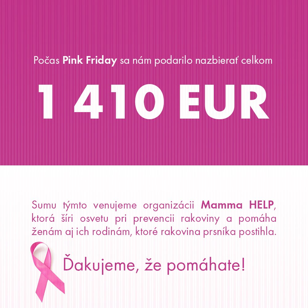 pink friday vytazek